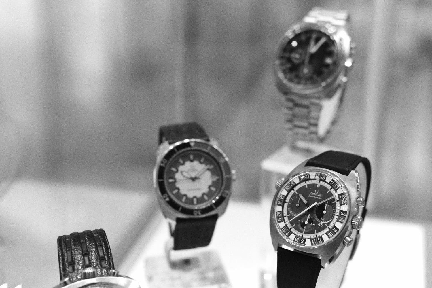 Seamaster-variants-Omega-Museum-Visit-Monochrome-Watches
