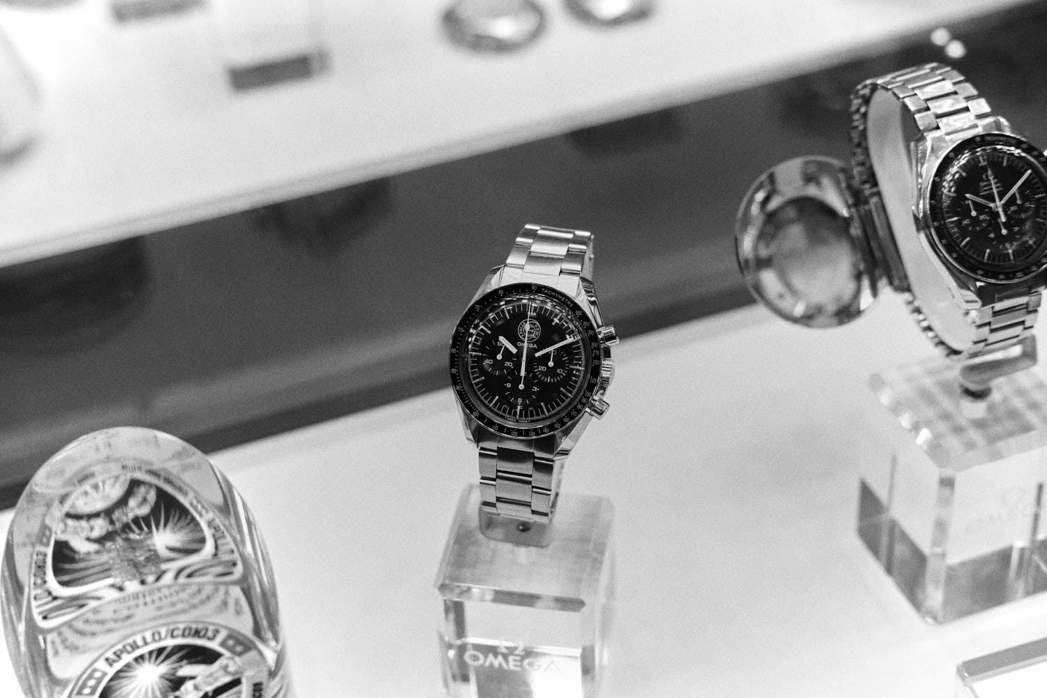 Soyuz-Omega-Museum-Visit-Monochrome-Watches