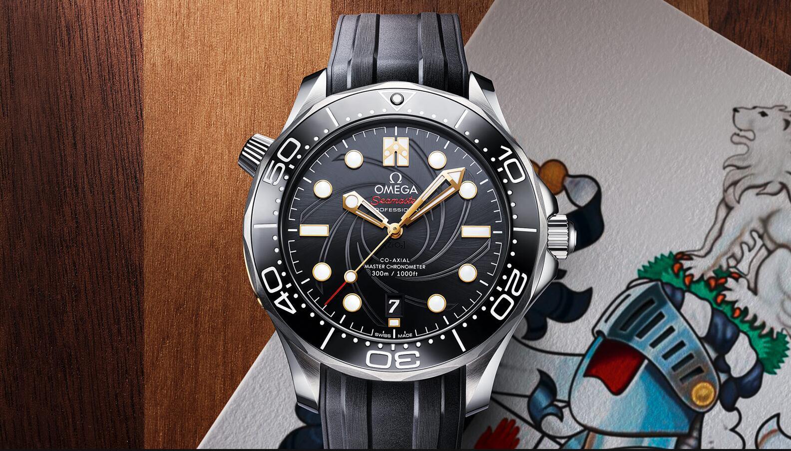 The water resistant copy watches are made from stainless steel.