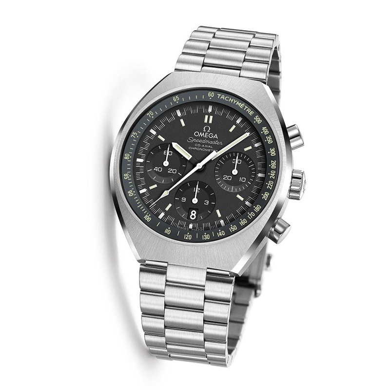The male copy watches are made from stainless steel.